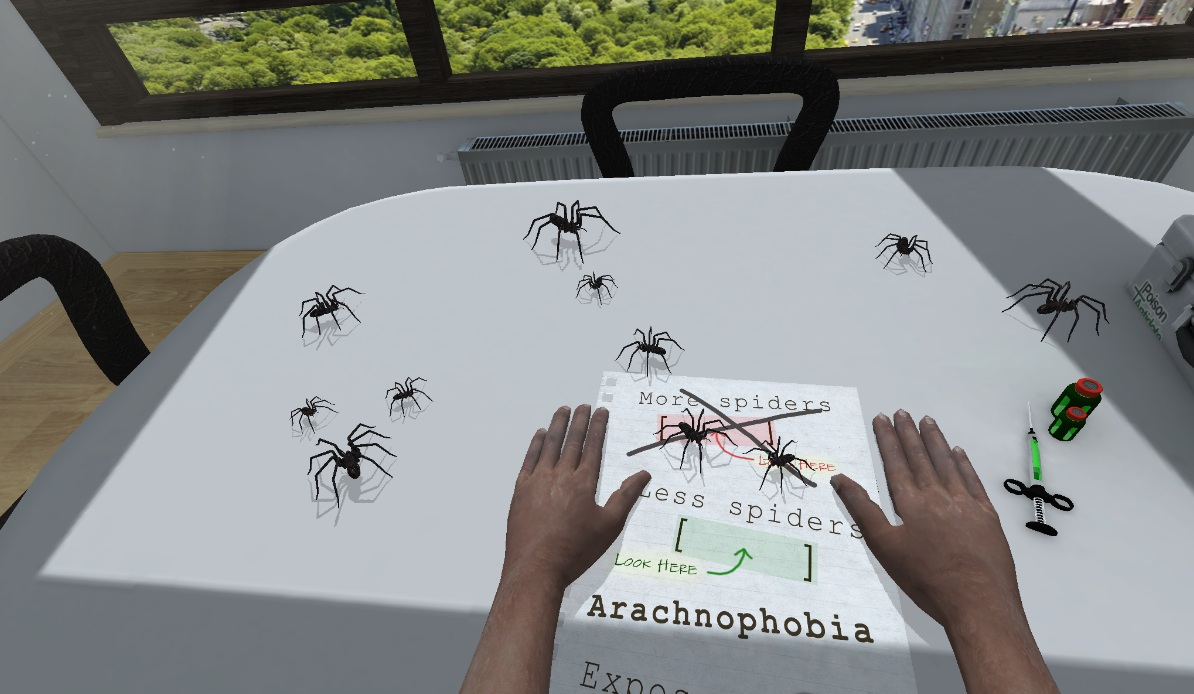 an analysis on arachnophobia Briana clifford is one of around 90 women who have been taking part in the unsw study into the role hormones play in arachnophobia briana cannot remember a time when she was not afraid of spiders.